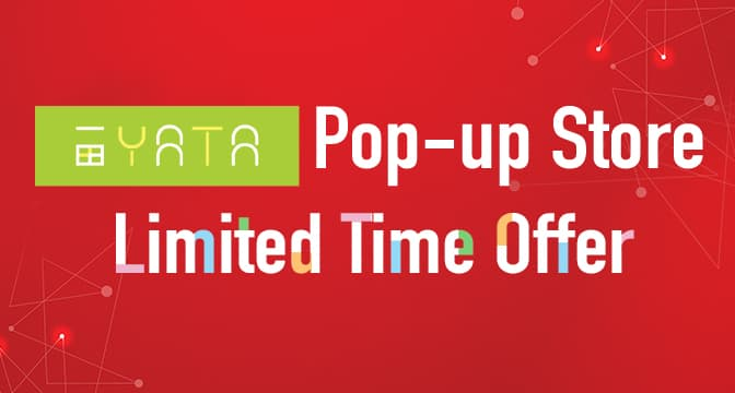 Yata Pop-up Store