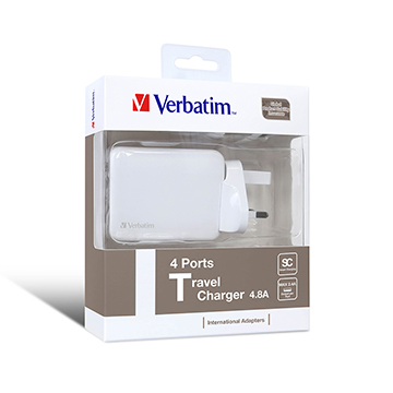 SmarTone Online Store Verbatim 4-Port USB Travel Charger