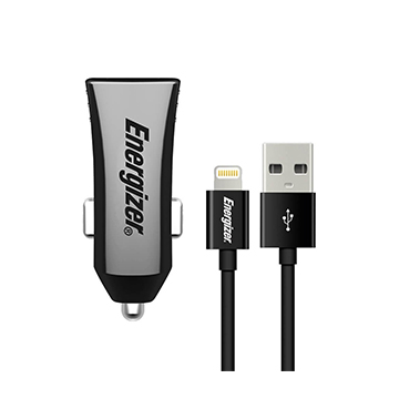 SmarTone Online Store Energizer Ultimate Car Charger With Lightning Cable