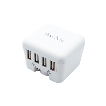 SmarTone Online Store SMARTGO Dice Smart 4 USB Universal Fast Charger