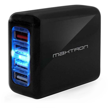SmarTone Online Store Maxtron 4-in-1 Quick Charge 3.0 4-Ports USB Travel Adaptor