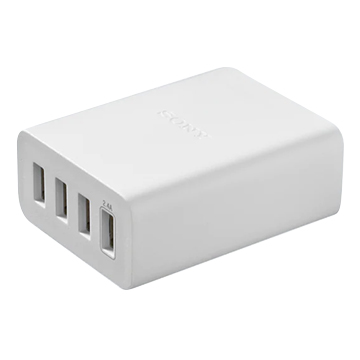 SmarTone Online Store Sony CP-AD2M4 USB AC adaptor with 4 ports