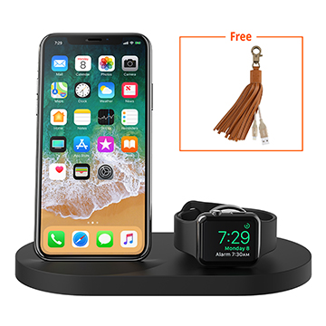 SmarTone Online Store Belkin BOOST↑UP™ Wireless Charging Dock for iPhone + Apple Watch + USB-A port (with FREE Belkin Lighting Cable)