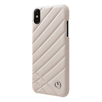 SmarTone Online Store Mercedes Benz Genuine Leather iPhone Hard Case - 5.8 Inch Screen