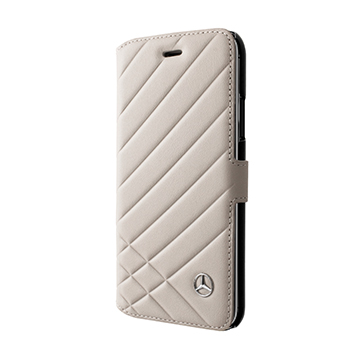 SmarTone Online Store Mercedes Benz Real Leather iPhone Booktype case - 5.8 Inch Screen