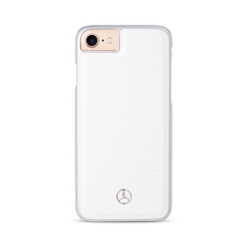 SmarTone Online Store Mercedes Benz Genuine Leather iPhone Hard Case - 4.7 Inch Screen
