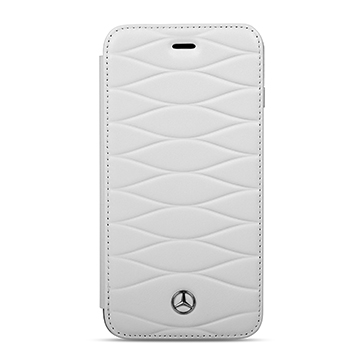 SmarTone Online Store Mercedes Benz Real Leather iPhone Booktype case - 5.5 Inch Screen