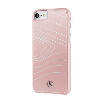 SmarTone Online Store Mercedes Benz iPhone Brushed Aluminium with waves - 4.7 Inch Screen
