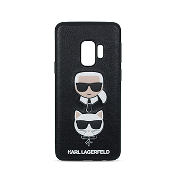 SmarTone Online Store KARL LAGERFELD Karl and Choupette Embossed Hard Case for Samsung Galaxy S9