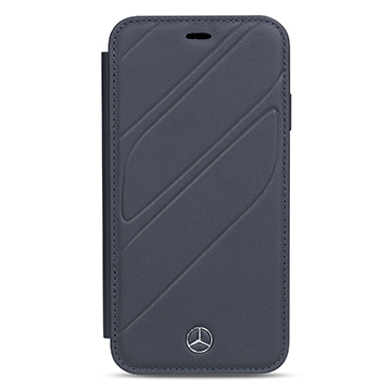 SmarTone Online Store Mercedes Benz Genuine Leather Booktype Case for  iPhone XS Max (New Organic I)
