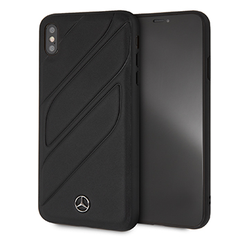 SmarTone Online Store Mercedes Benz Genuine Leather Hard Case for iPhone XS Max (New Organic I)