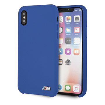 SmarTone Online Store BMW Real Microfibre Silicone Case for iPhone X / XS