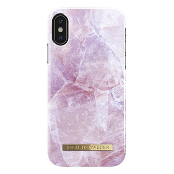 SmarTone Online Store iDeal of Sweden Fashion iPhone X/XS case - Pilion Pink Marble