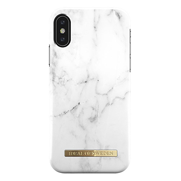 SmarTone Online Store iDeal of Sweden Fashion iPhone X case - White Marble