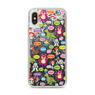 SmarTone Online Store Innoduction Disney Glitter Case for iPhone X (Toystory)
