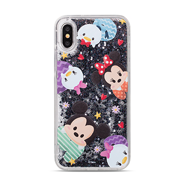 SmarTone Online Store Innoduction Disney Glitter Case for iPhone X (Tsum Tsum Style 1)