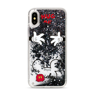 SmarTone Online Store Innoduction Disney Glitter Case for iPhone X (Mickey)