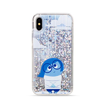 SmarTone Online Store Innoduction Disney Glitter Case for iPhone X(Sadness)