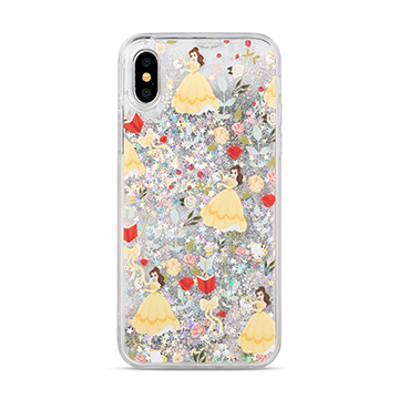 SmarTone Online Store Innoduction Disney Glitter Case for iPhone X  (Belle)