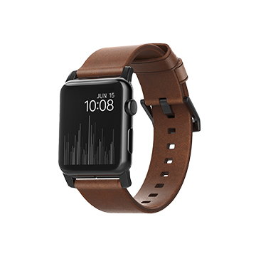 SmarTone Online Store Nomad Leather Modern Strap For Apple Watch 42MM