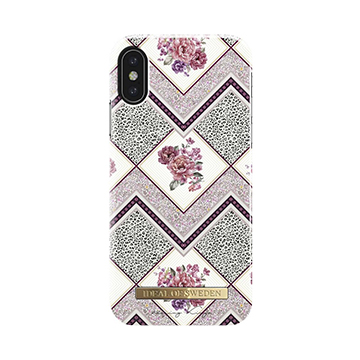 SmarTone Online Store iDeal of Sweden Fashion iPhone XS / X case - Geo Floral Scarf