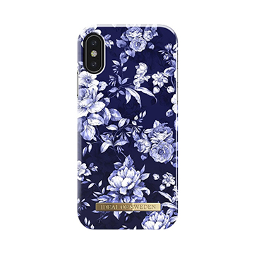 SmarTone Online Store iDeal of Sweden Fashion iPhone X case - Sailor Blue Bloom