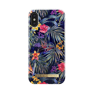 SmarTone Online Store iDeal of Sweden Fashion iPhone XS/X case - Mysterious Jungle