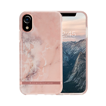 SmarTone Online Store Richmond & Finch Freedom Case For iPhone XR - Pink Marble