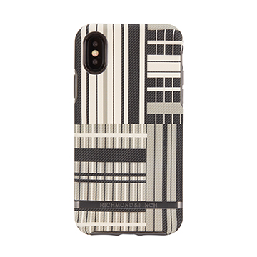 SmarTone Online Store Richmond & Finch Freedom Case For iPhone XS Max - Platinum Stripes