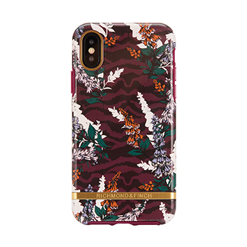 SmarTone Online Store Richmond & Finch Freedom Case For iPhone XS Max - Floral Zebra