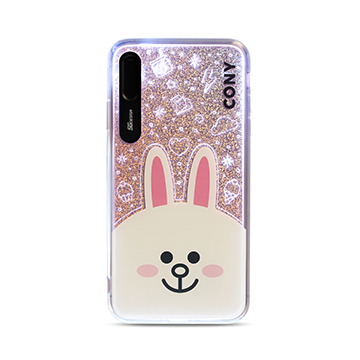SmarTone Online Store SG Design Line Friends iPhone XS Max 閃爍保護殼 (Cony) )