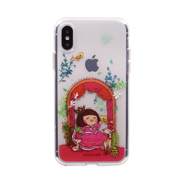 SmarTone Online Store Chocolate Rain iPhone XS 保護殼- Secret Garden