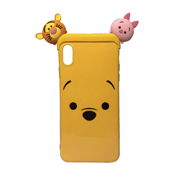 SmarTone Online Store Disney Tsum Tsum Case for iPhone XS (Winnie The Pooh)