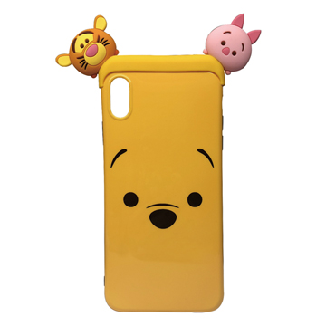 SmarTone Online Store Disney Tsum Tsum Case for iPhone XS Max (Winnie The Pooh)