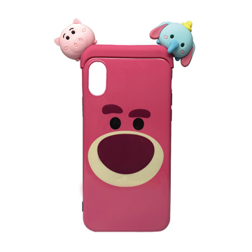 SmarTone Online Store Disney Tsum Tsum Case for iPhone XS  (Lotso)