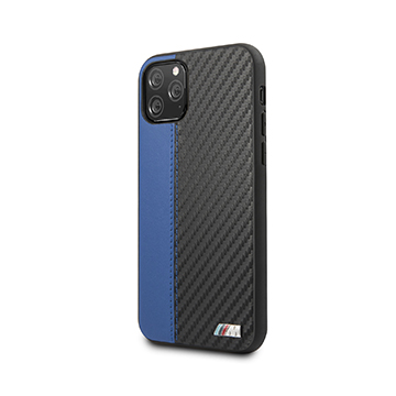 SmarTone Online Store BMW PU Leather with Carbon Strip for iPhone 11 Pro
