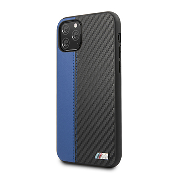 SmarTone Online Store BMW PU Leather with Carbon Strip for iPhone 11 Pro Max