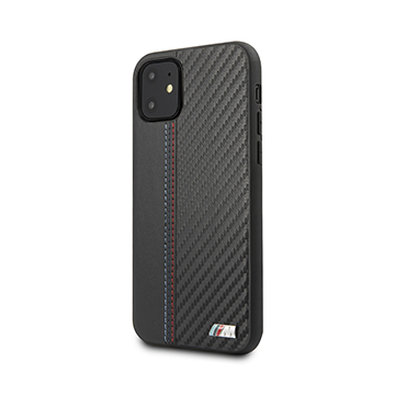 SmarTone Online Store BMW PU Leather with Carbon Strip for iPhone 11