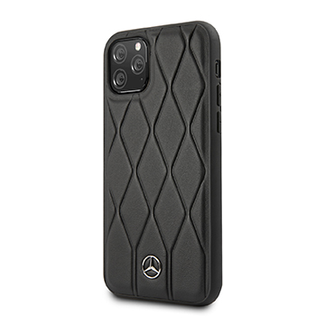 SmarTone Online Store Mercedes Benz Genuine Leather Hard Case for iPhone 11 Pro Max