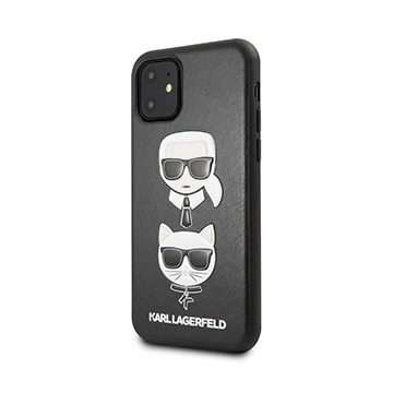 SmarTone Online Store KARL LAGERFELD Karl & Choupette PU Leather Case for iPhone 11