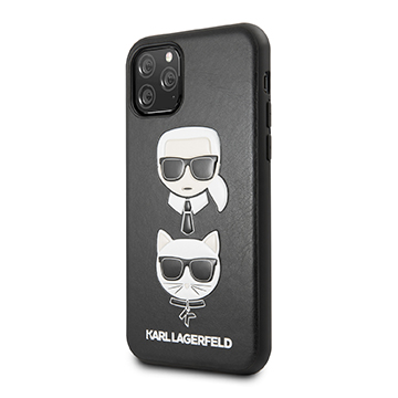 SmarTone Online Store KARL LAGERFELD Karl & Choupette PU Leather Case for iPhone 11 Pro Max