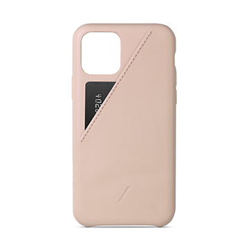 SmarTone Online Store Native Union CLIC CARD - Protective Leather Case with Card Holder for iPhone 11 Pro