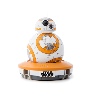 SmarTone Online Store Sphero BB-8 App-Enabled Droid with Droid Trainer