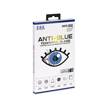 SmarTone Online Store Sail Anti Blue Screen Protector for iPhone 11