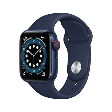 SmarTone Online Store Apple Watch Series 6 (GPS + Cellular), 40mm Aluminum Case with Sport Band