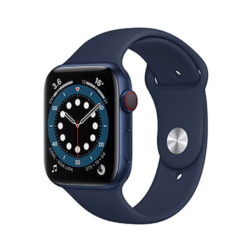SmarTone Online Store Apple Watch Series 6 (GPS + Cellular), 44mm Aluminium Case with Sport Band