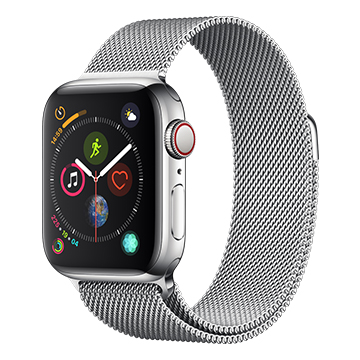 SmarTone Online Store Apple Watch Series 4 (40mm)(GPS + Cellular) Stainless Steel Case with Milanese Loop