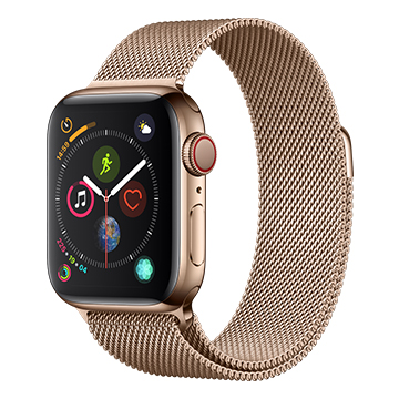 SmarTone Online Store Apple Watch Series 4 (40mm)(GPS + Cellular) Gold Stainless Steel Case with Gold Milanese Loop