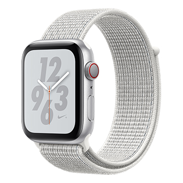 SmarTone Online Store Apple Watch Series 4 (44mm)(GPS + Cellular) Nike+ Silver Aluminum Case with Summit White Nike Sport Loop