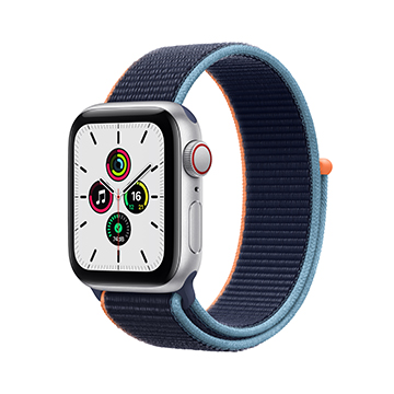 SmarTone Online Store Apple Watch SE (GPS + Cellular), 40mm Aluminium Case with Sport Loop